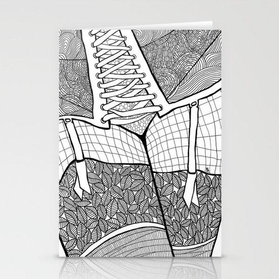 La femme 11 Stationery Cards