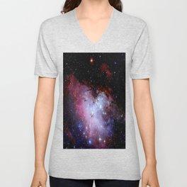 Eagle Nebula / pillars of creation Unisex V-Neck