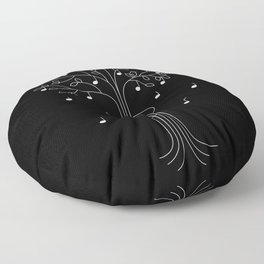 The Musician Floor Pillow