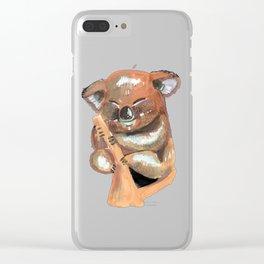 Kawaii Koala Clear iPhone Case
