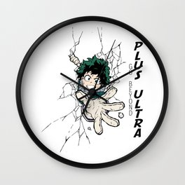 Go Beyond! Plus Ultra! Wall Clock