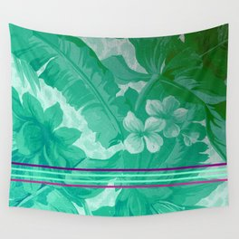 FLOral art A Wall Tapestry