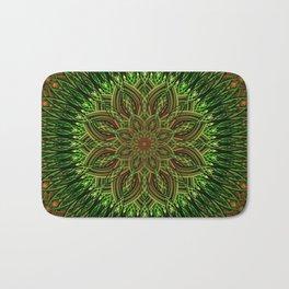 Earth Flower Mandala Bath Mat