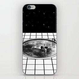 Pool Moon iPhone Skin