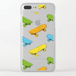 skateboards Clear iPhone Case