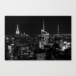 New York City B&W Canvas Print