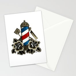 Barber's Life Stationery Cards
