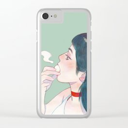 Bun Clear iPhone Case