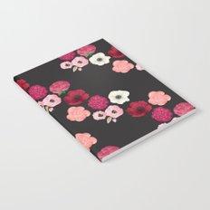 Black & Flowers Notebook