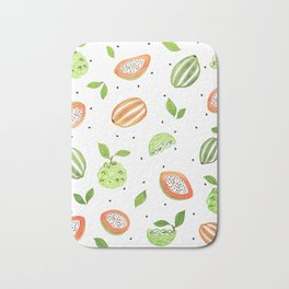 Papaya & Custard Apple Bath Mat