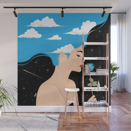 Scent Of Blue Wall Mural