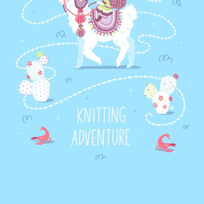 Knitting Adventure Leggings
