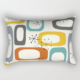 Mid Century Modern Shapes 02 #society6 #buyart Rectangular Pillow