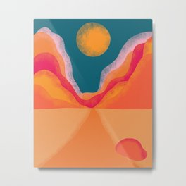 Desert Shades Metal Print