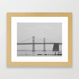 Silent Bridge Framed Art Print