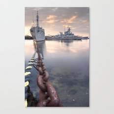 Battleship Cove Canvas Print