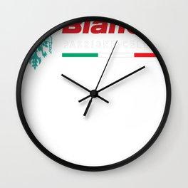 BIANCHI-PASSIONE-CELESTE Wall Clock