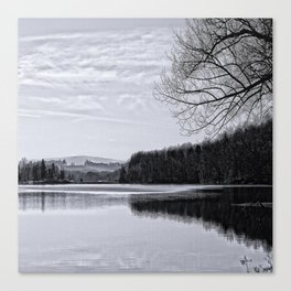 At the Lake  Canvas Print