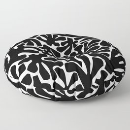 The Cut Outs // B&W Floor Pillow