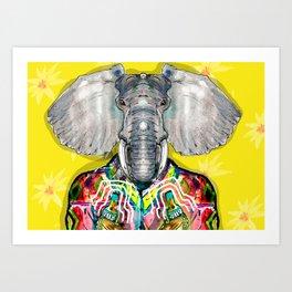 ELEPHAS Art Print
