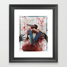 Evil Framed Art Print