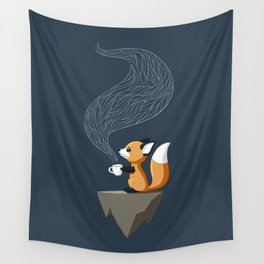 Fox Tea Wall Tapestry