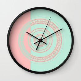 Circles #3 Wall Clock