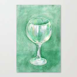 Small glass Canvas Print