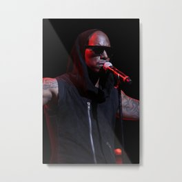 Tyrese Gibson at Club Nokia Metal Print