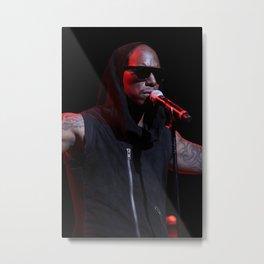 Tyrese Gibson at Club Nokia Metal Print