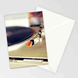 Vinyl Lover Stationery Cards