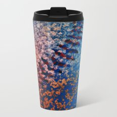 Scorched Metal Travel Mug
