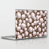 baseball Laptop & iPad Skins featuring Baseball by joanfriends
