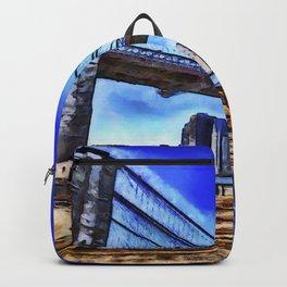 Brooklyn Bridge New York Art Backpack