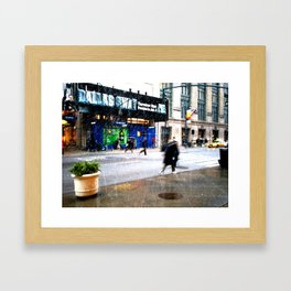 SNOW | 02 Framed Art Print