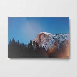 Yosemite Landscape Metal Print