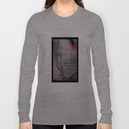 The Door----Religious Abstract Art --- John 10:9 --- by Saribelle Rodriguez Long Sleeve T-shirt