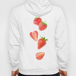 Falling strawberries Hoody