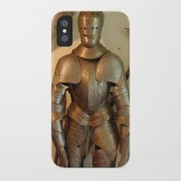 knight iPhone & iPod Cases featuring Knight by SlothgirlArt