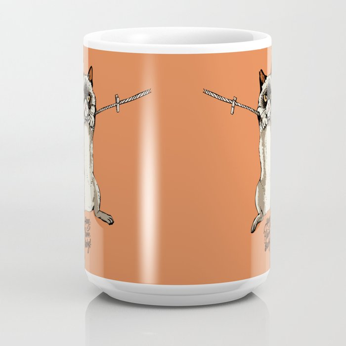 Hang in There Baby Cat Coffee Mug