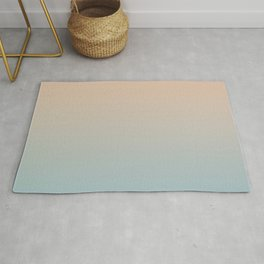 HALF MOON - Minimal Plain Soft Mood Color Blend Prints Rug