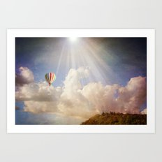Dreams of Light Art Print