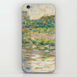 The Seine at Courbevoie, Georges Seurat iPhone Skin