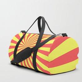 Starburst (Red & Yellow Pattern) Duffle Bag