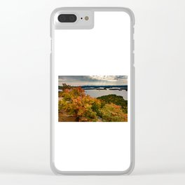 Autumn colors in New Hampshire Clear iPhone Case