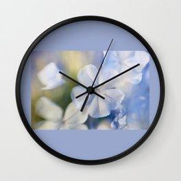 Plumbago Dream Wall Clock
