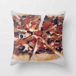 Pizza Dodo Throw Pillow