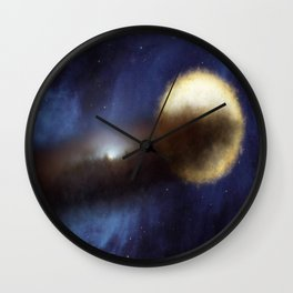 Mystery of the fading star Wall Clock