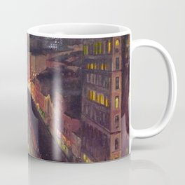 Classical Masterpiece 'The City from Greenwich Village' New York City by John French Sloan Coffee Mug