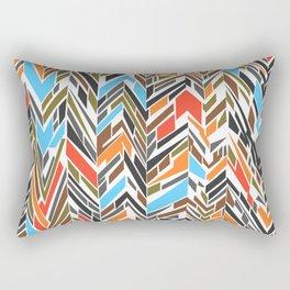 Summer Shapes Rectangular Pillow